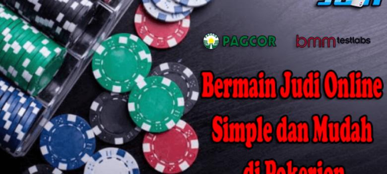 Bermain Judi Online Simple dan Mudah di Pokerjon